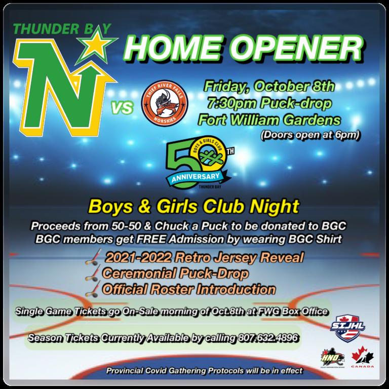 BGC Night at the Northstars Game